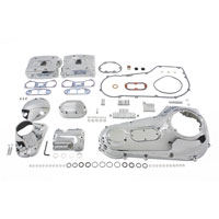 V-Twin Manufacturing Chrome Customizer Engine Cover Set