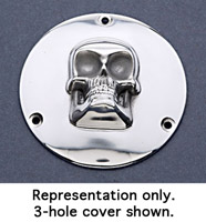 Twin Cam Skull Derby Cover