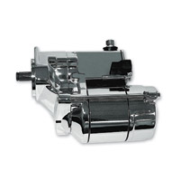 Rivera Primo Chrome 1.4 KW Starter Motor for Big Twins