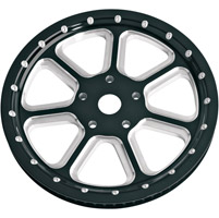 Roland Sands Design Diesel Contrast Cut 66T Forged Aluminum Pulley