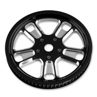 Roland Sands Design Judge Contrast Cut 72T Forged Aluminum Pulley