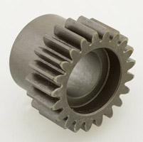 JIMS Replacement Red Pinion Gear for Big Twin Models