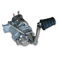 RevTech 6-into-4 Transmission with Kicker for Big Twin