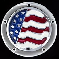 CAT LLC USA Flag Derby Cover