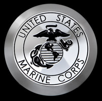 CAT LLC USMC Black Air Cleaner Cover