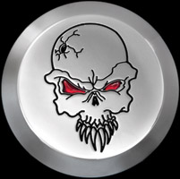 CAT LLC Evil Skull Air Cleaner Cover Insert