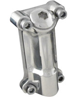 Baker Chrome Function Formed Oil Fill Spout for FL