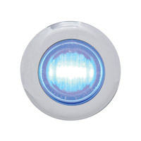 Pro-One Blue LED with Clear Lens Mini Marker Lights