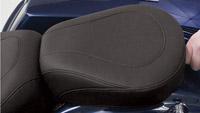 Mustang Black Wide Tripper Passenger Seat