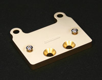 Accutronix Brass Billet Regulator Mount