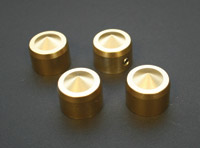 Accutronix Elite Brass Head Bolt Cover Set