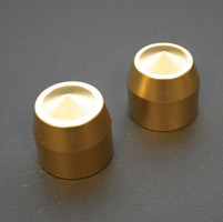 Accutronix Elite Brass Front Axle Caps