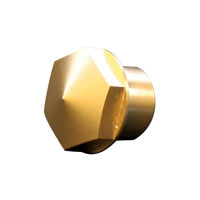 Accutronix 1″ Brass Elite Fork Stem Nut