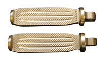Accutronix Milled Brass Folding Footpegs
