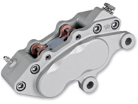 Jaybrake J-6 Ultra Six Piston Left Hand Polished Front Brake Caliper