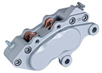 Jaybrake J-6 Ultra Six Piston Left Hand Chrome Front Brake Caliper