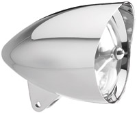 Headwinds 5-3/4″ Polished Mariah Concours Rocket Headlight