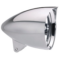 Headwinds 5-3/4″ Polished Vampire Concours Rocket Headlight