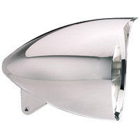 Headwinds 7″ Chrome Vampire Concours Rocket Headlight Chrome