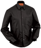 First Manufacturing Co. Men's Leather Concealment Shirt