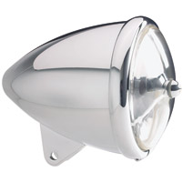 Headwinds 5-3/4″ Polished Standard Concours Rocket Headlight Polished