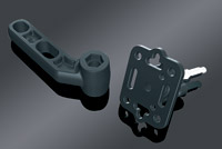 Kuryakyn Standard Cell Phone or Accessory Mount for Clutch or Brake Perch