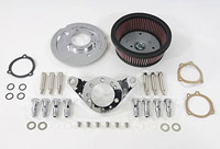 V-Twin Manufacturing High-Performance Air Cleaner Kit for S&S Super 'E' or 'G' Carbs