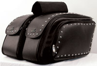 Mustang Expandable Throw-Over Saddlebag