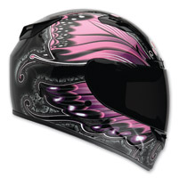 Bell Vortex Monarch Pink Full Face Helmet