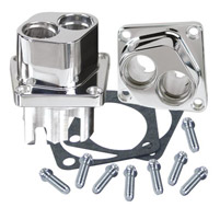 S&S Cycle Polished Billet Tappet Guides for V-Series and SA Crankcases
