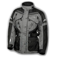 Olympia Moto Sports Ladies Pewter AST 2 Touring Jacket