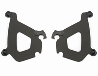 Memphis Shades Bullet Fairing Black Mounting Plates Only