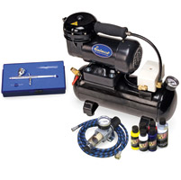 Eastwood Company Professional Airbrush Kit with Auto Shut-Off