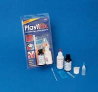 Eastwood Company Clear Rigid Plastic Repair Kit