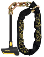 OnGuard Beast Chain with Keyed T-Lock