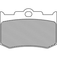 Semi-Metallic Brake Pads for Performance Machine Calipers