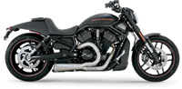 Vance & Hines Competition Series 2-into-1 Stainless Steel Exhaust