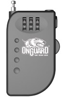 OnGuard Terrier Roller Pocket-Sized Retractable Cable Lock