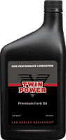 Twin Power Fork Oil 5W Quart