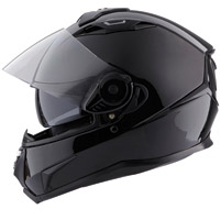 VEMAR HELMETS Geo Gloss Black Full Face Helmet