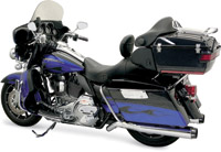 Bassani Road Rage II B1 Pseudo Left-side Chrome Muffler