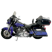 Bassani Road Rage II B1 Pseudo Left-side Black Muffler