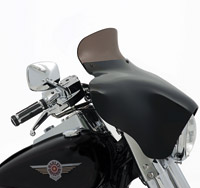 Memphis Shades 5″ Smoke Spoiler Windshield for Memphis Shades Batwing Fairing