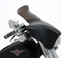 Memphis Shades 9″ Smoke Spoiler Windshield for Memphis Shades Batwing Fairing
