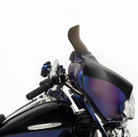Memphis Shades 6-1/2″ Smoke Spoiler Windshield