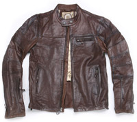 Roland Sands Design Ronin Tobacco Leather Jacke