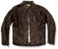 Roland Sands Design Tobacco Turbine Leather Jacket