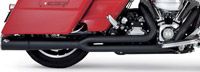 Vance & Hines 2 Into 1 Pro Pipe Black