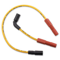 ACCEL SS 8MM Ferro-Spiral Core Yellow Wire Set