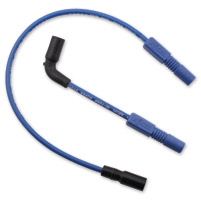 ACCEL SS 8MM Ferro-Spiral Core Blue Wire Set